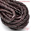 Плетеный шнур 5мм искусственная кожа для рукоделия
