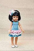 Вязаное платье Handmade для кукол Paola Reina, 32 см