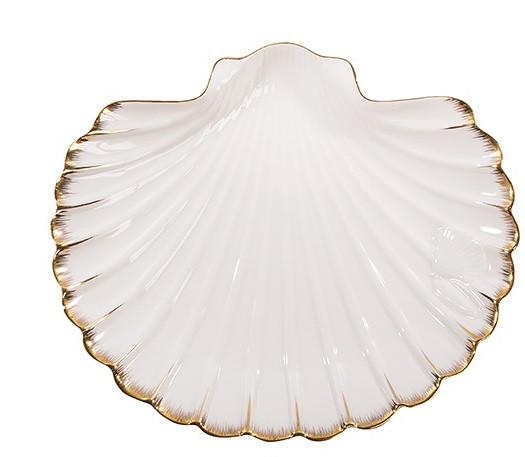 Фарфоровая посуда Pavone Дизайн Морская Ракушка