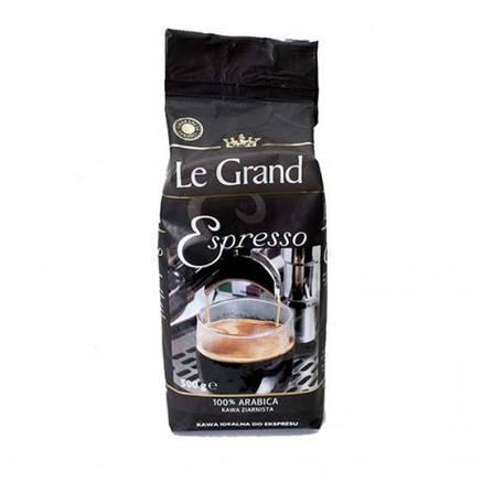 Кофе Le Grand Espresso в зернах 100% arabica 500г, фото 2