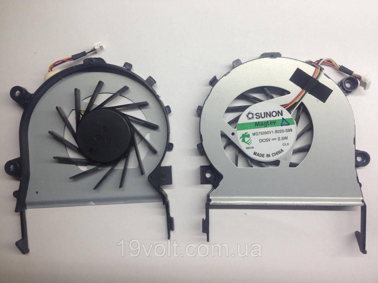 Вентилятор для ноутбука Acer Aspire 5625 (версия 2, без крышки), 5553G, 5553NWXMi