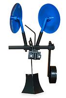 Картофелесажалка оборотная КП-1 с опорным колесом, фото 1