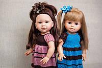Вязаное платье Handmade для кукол Paola Reina, 44 см