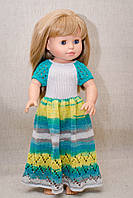 Длинное платье Handmade для кукол Paola Reina, 44 см