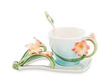 Фарфоровая чайная пара Кливия (Pavone) FM- 36/ 3, фото 1