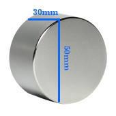 Неодимовый магнит 30х50