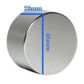 Неодимовый магнит 20х45