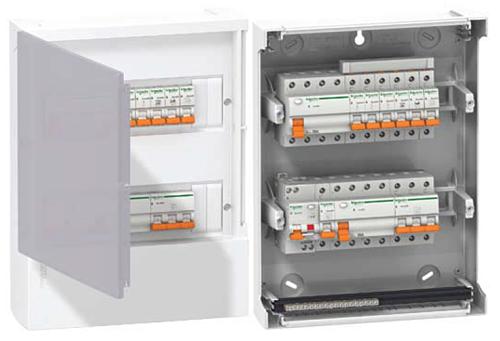 Щитки модульные распределительные пластик Mini Pragma (IP 40) Schneider Electric