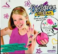 Игровой набор для девочек маникюрный набор с трафаретами