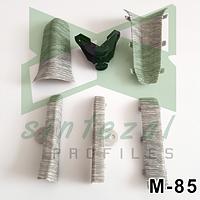 Соединители для плинтуса М-85 IDEAL ЭЛИТ-МАКСИ., фото 1