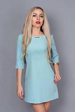 Красивое платье молодёжное стильное с карманами 46,48