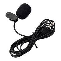 Петличный микрофон для телефона, компьютера, видеокамеры 3.5 мм