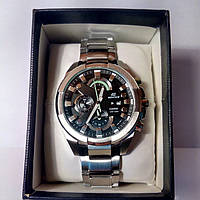 Часы Casio Edifice EFR-540D-1A металл/чер