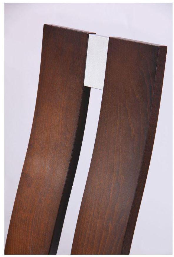 Стул обеденный Дуглас СВ-2407YBH орех темный-ткань коричневая (Фото 10)