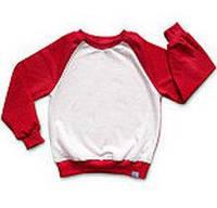 Детский цветной свитшот на подкладке. Печать фото., фото 1