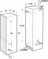 Холодильник Gorenje RKI 2181 E1, фото 3