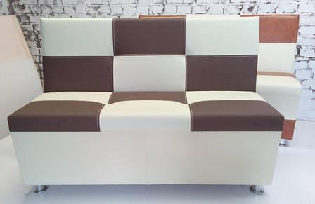 Кухонний диван Ліга Шахматка , розмір і оббивка на вибір, фото 2