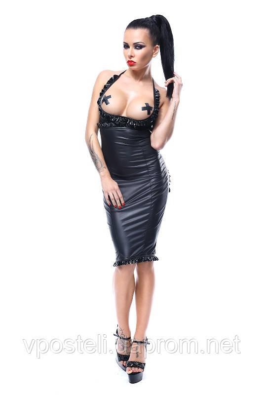 Эротическое белье Боди Demoniq Laureen (лиф, юбка, стринги)