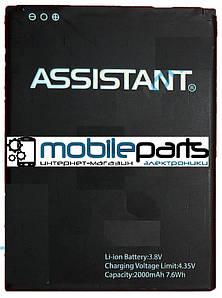 Оригинальный аккумулятор АКБ (Батарея) для Assistant AP-4411   4421 (2000mAh 3,8V)
