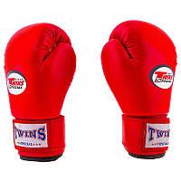 Боксерские перчатки для начинающих Twins, PVC, 4oz,6oz