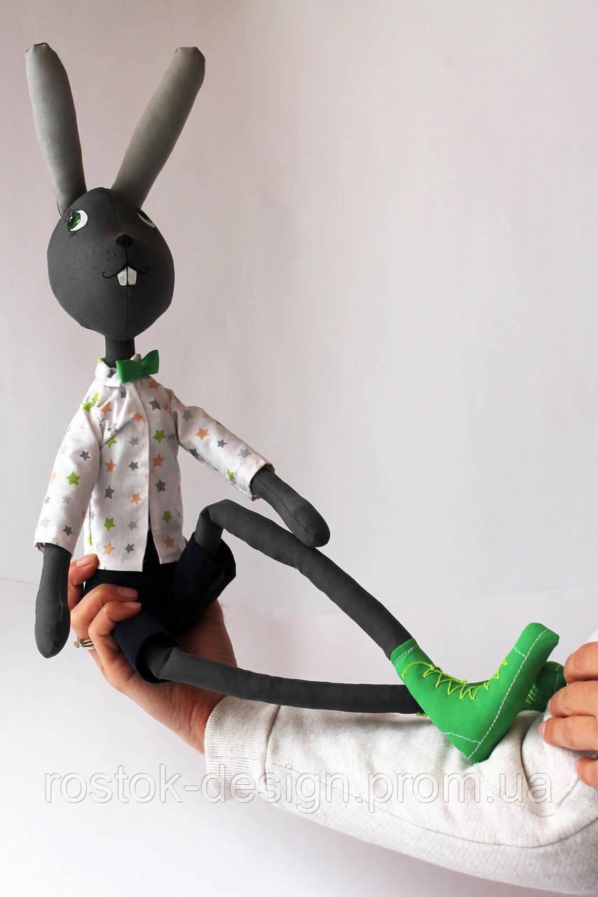 Кролик мальчик в стиле тильда