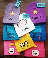 """Шапка """"Adventure Time"""" - """"Время приключений"""""""