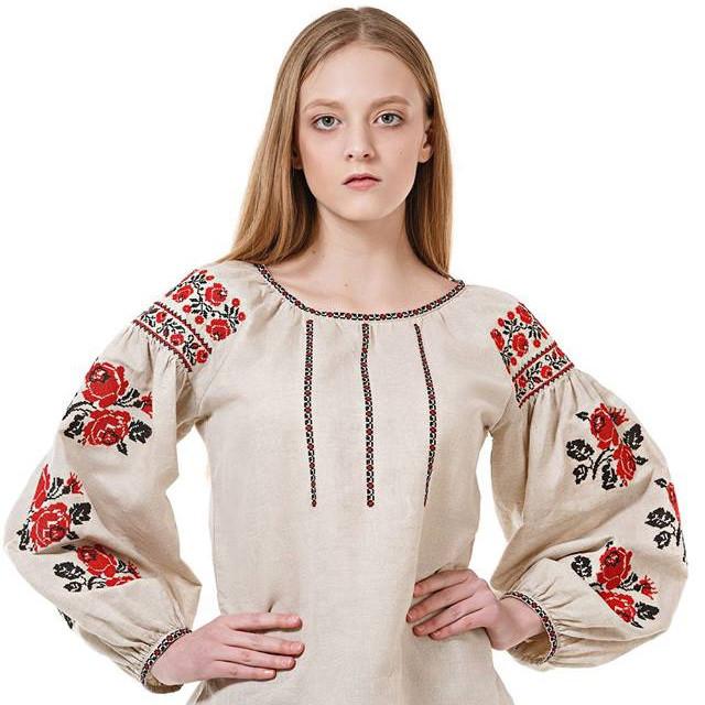 Жіноча лляна вишиванка - Интернет-магазин