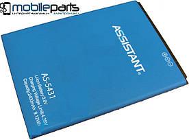 Оригинальный аккумулятор АКБ (Батарея) для Assistant AS-5431 Gray (Li-ion 3.8V 2400mAh)