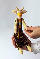 Жираф мальчик в комбинезоне и очках, фото 1