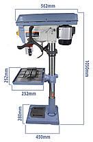 Сверлильный станок BassPolska 3F 1500W 20мм, фото 2