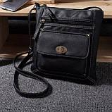 Небольшая женская сумка через плечо. Женские сумки. Стильные сумки., фото 7