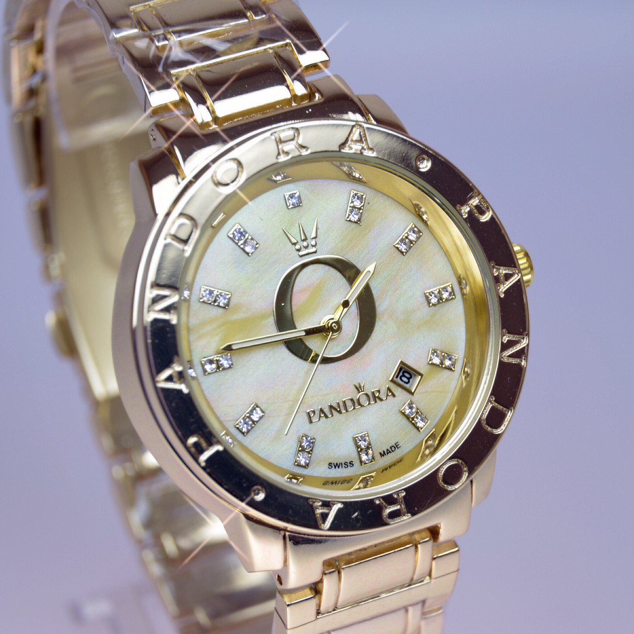 c53d22978ffa Женские наручные часы PANDORA (Пандора) B34 Gold перламутр   продажа ...