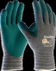 Перчатки рабочие с хлопковой подкладкой MaxiFlex® Comfort™ 34-924