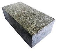 Брусчатка полнопиленая из гранита (габбро) 20х10х5 см
