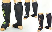 Защита для голени и стопы чулочного типа с фиксатором на липучке Vemun 6239: 3 цвета, размер XS-XL