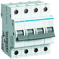 Автоматический выключатель In=6А, 4п, С, 6кА Hager, фото 1