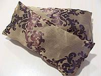 Комплект подушек коричневые завитки, 2шт, фото 1