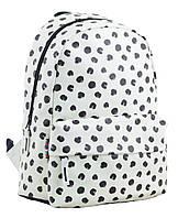 """Рюкзак подростковый кожаный Black dots ST-28, """"YES"""", 554968, фото 1"""