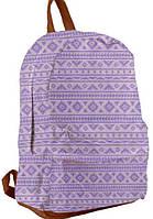 """Підлітковий Рюкзак шкіряний Pink ST-15, """"YES"""", 553534"""