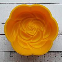 Форма для мыла силиконовая Цветок 7*2 см см