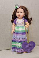Платье длинное Handmade для кукол Paola Reina, 44 см