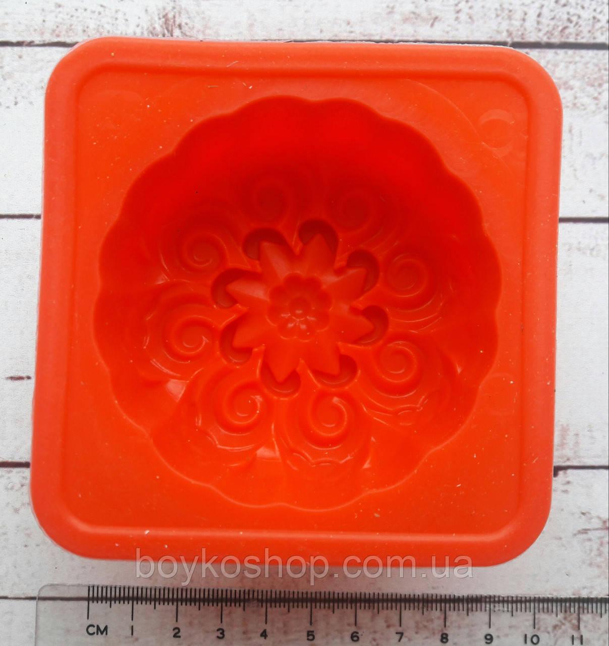 Форма для мыла силиконовая 7*3 см
