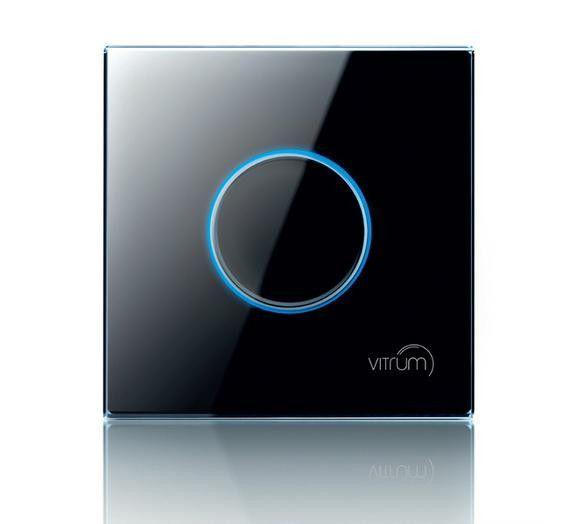 Vitrum I BS Satellite Wireless, Z-Wave, сенсорний 1-канальний модуль управління, британський стандарт