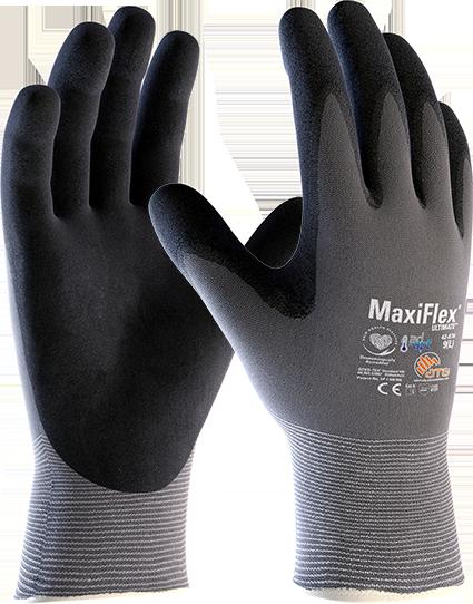 Защитные перчатки с нитрильным покрытием MaxiFlex® Ultimate™ 42-874
