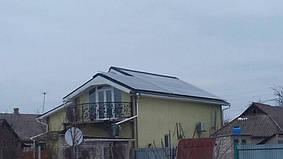 Малотарановка солнечная электростанция сетевая под зеленый тариф 30,2 кВт Huawei, Донецкая обл.