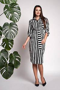 Платье Натали 0312_2 Чёрное