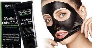 Маска-пленка для лица очищающая Ministar Black Mask