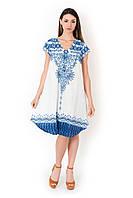 Широкое пляжное платье для женщин Iconique IC8-074 44(M) Белый Iconique IC8-074
