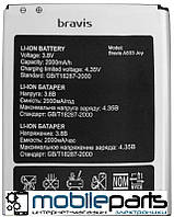Оригинальный аккумулятор АКБ (Батарея) Bravis A503 Joy (Li-ion 3.8V 2000mAh)
