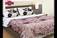 Комплект постельного белья двуспальный евростандарт ТЕП Мокко